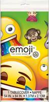 Unique Plastic Emoji Rainbow tafelkleed