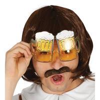 Oktoberfest - Bier pullen verkleed bril voor volwassenen