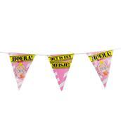 Coppens Party Vlaggen - geboorte meisje