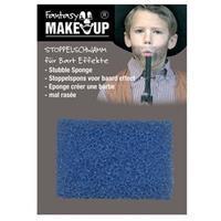 Schmink/make-up sponsje voor stoppelbaarden Blauw