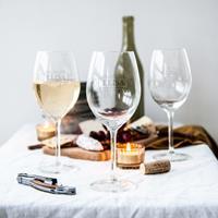 YourSurprise Wit wijnglas - set van 4