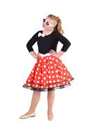 Coppens Rock'n roll jurk of Minni mouse op=op