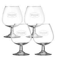 YourSurprise Cognacglas - 4 stuks