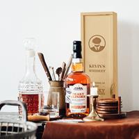 YourSurprise Peaky Blinders whiskeypakket - met gegraveerde kist