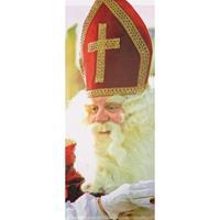 Sinterklaas banner/banier/vlag brandwerend 75 x 180 cm Multi