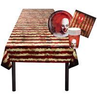 Boland tafelpakket Horrorclown 25-delig