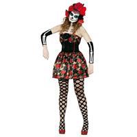 Day of the Dead verkleed kostuum voor dames