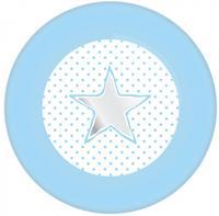 Haza Original Bordjes Star / Hart Blauw