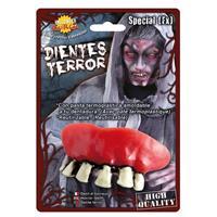 Horror zombie gebit/neptanden Halloween accessoire Multi