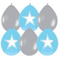 Haza Original Ballonnen Star / Hart Blauw