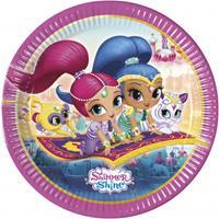 Nickelodeon 8 kartonnen Shimmer & Shine borden