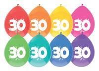Haza Original Ballon leeftijd 6 stuks 30 jaar
