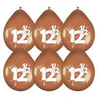 Haza Original Ballonnen brond 12.5 jaar 6 stuks 30cm