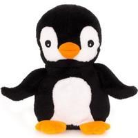 Magnetron warmte knuffel pinguin 23 cm Multi