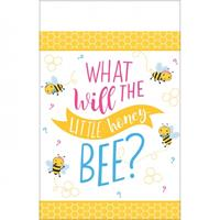 "Amscan tafelkeed babyshower ""What will it Bee?"" 259 x 137 cm"
