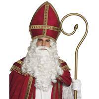 Voordelige Sinterklaas mijter voor volwassenen