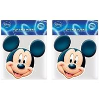 Disney 2x Mickey Mouse maskers Multi