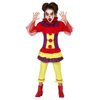 Halloween - Horror clown Penny verkleed kostuum voor meisjes
