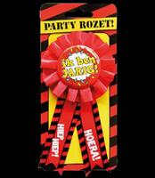 Party Rozetten - Gefeliciteerd