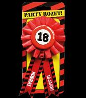 Party Rozetten - 18 jaar