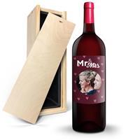 YourSurprise Wijn met bedrukt etiket - Ramon Bilbao Crianza - Magnum