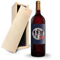 YourSurprise Wijn met bedrukt etiket - Salentein - Malbec - Magnum