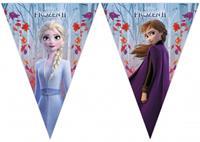 Gabbiano Frozen II vlaggenlijn 230 cm blauw/paars