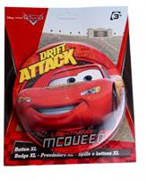 Disney button Cars 14 cm rood