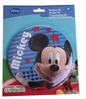 Disney button Mickey Mouse 14 cm blauw