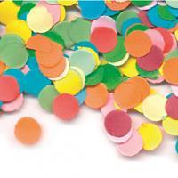 Gekleurde confetti 1000 gram Multi