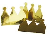 Haza Original kroontjes 6 stuks metallic goud