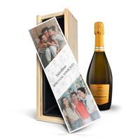 YourSurprise Wijn in bedrukte kist - Riondo Prosecco Spumante