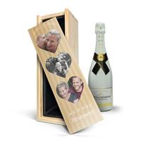 YourSurprise Champagne in bedrukte kist - Moët & Chandon Ice Imperial (750ml)