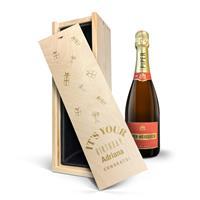 YourSurprise Champagne in gegraveerde kist - Piper Heidsieck Brut (750ml)