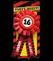 Paperdreams Party Rozetten - 16 jaar