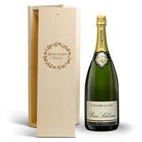 YourSurprise Champagne in gegraveerde kist - René Schloesser - Magnum
