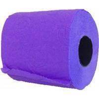 Renova 2x Paars toiletpapier rol vellen Paars