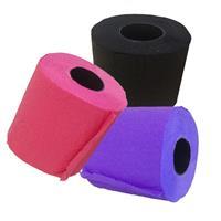 Renova Paars/roze/zwart wc papier rol pakket Multi