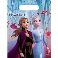 Disney 6x Frozen 2 themafeest uitdeelzakjes Multi
