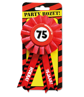 Paperdreams Party Rozetten - 75 jaar