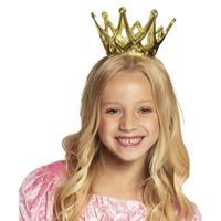 Prinsessen kroontje meisjes Goudkleurig