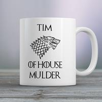 Gepersonaliseerde mok Game of Thrones House of