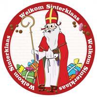 Bellatio 100x Onderzetters Sinterklaas Multi