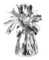 Boland ballongewicht 13 cm folie zilver 160 gram