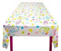 Boland tafelkleed met confettipatroon 180x130 cm