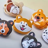 Kikkerland Bag clips in de vorm van een hondenkop