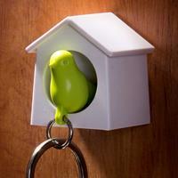 Qualy Mini Sparrow sleutelhanger - Groen
