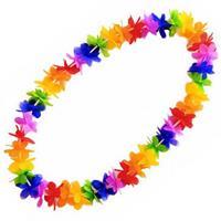 Hawaii krans gekleurd