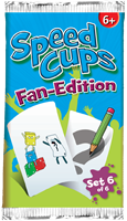 999 Games Stapelgekke Speed Cups Fan Booster 6 - Actiespel