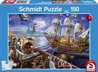 schmidt Piraten Avontuur 150 stukjes - Puzzel
